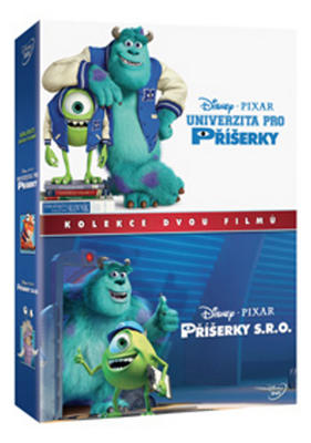 Obrázok Příšerky kolekce 1.-2. 2 DVD