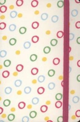 Obrázok Notes s gumičkou Colours Rings