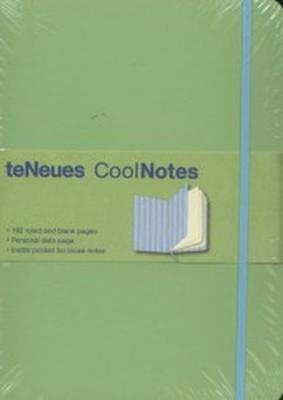 Obrázok Notes s gumičkou Cool zelenomodrý