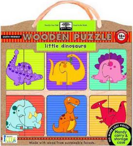 Obrázok Little Dinosaurs Wooden Puzzle