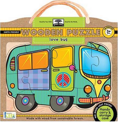 Obrázok Love Bus Wooden Puzzle