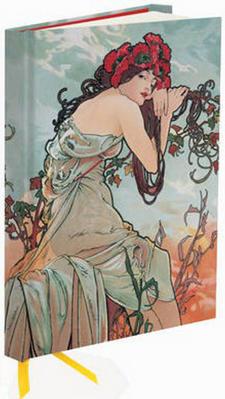 Obrázok Zápisník Flame Tree Mucha Summer 1896