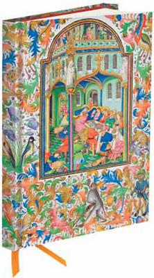 Obrázok Zápisník Flame Tree Illuminated Manuscript Marriage Feast at Cana Station