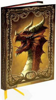 Obrázok Zápisník Flame Tree Dragon - Red by Kerem Beyit