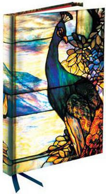 Obrázok Zápisník Flame Tree Tiffany Landscape Leaded Glass Window