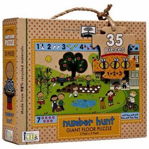Obrázok Number Hunt Giant Floor Puzzle