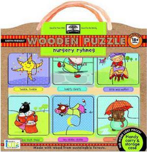 Obrázok Nursery Rhymes Wooden Puzzle