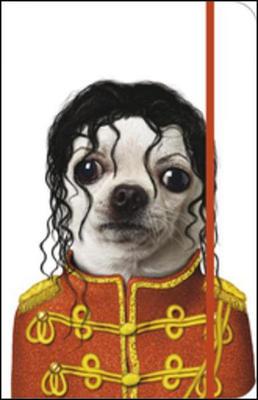 Obrázok Notes s gumičkou Michael Jackson