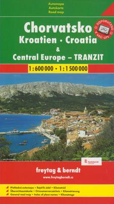 Obrázok Automapa Chorvatsko a Střední Evropa tranzit 1:600 000