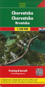 Obrázok Automapa Chorvatsko 1:500 000
