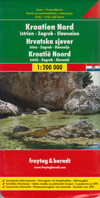 Obrázok Automapa Chorvatsko sever 1:200 000