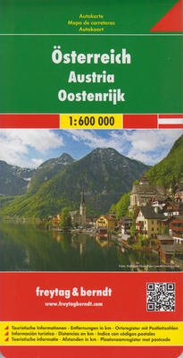 Obrázok Automapa Rakousko 1:600.000