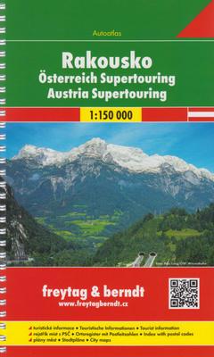 Obrázok Autoatlas Rakousko supertouring 1:150 000