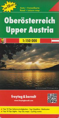 Obrázok Automapa Horní Rakousko 1:150 000