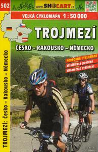 Obrázok Trojmezí Česko - Rakousko - Německo cyklomapa 1:50 000