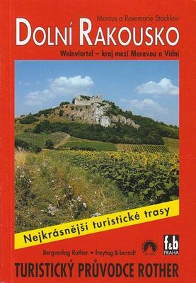 Obrázok Turistický průvodce Rother Dolní Rakousko