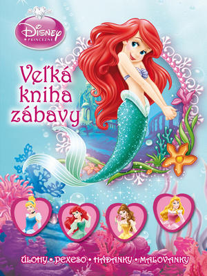 Obrázok Princezné Velká kniha zábavy