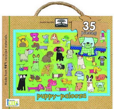 Obrázok Puppy-Palooza Giant Floor Puzzle