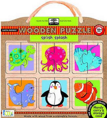 Obrázok Splish-Splash Wooden Puzzle