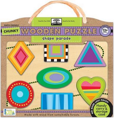 Obrázok Shape Parade Chunky Wooden Puzzle