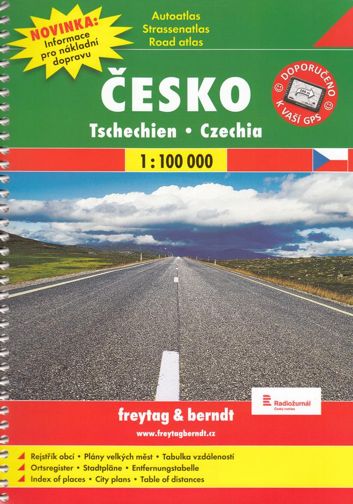 Autoatlas Česká republika 1:100 000