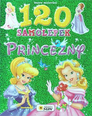 Obrázok Bezva malování 120 samolepek Princezny