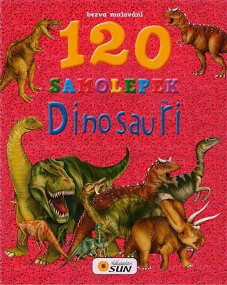 Obrázok Bezva malování 120 samolepek Dinosauři