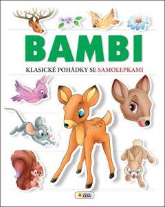 Obrázok Bambi Klasické pohádky se samolepkami
