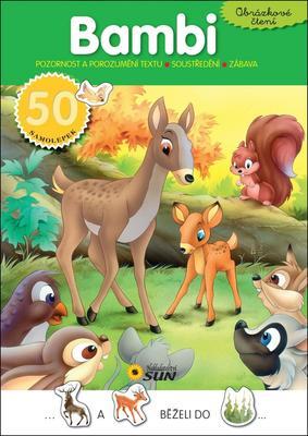 Obrázok Obrázkové čtení Bambi
