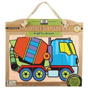 Obrázok Green Start Mighty Mixer Wooden Puzzle