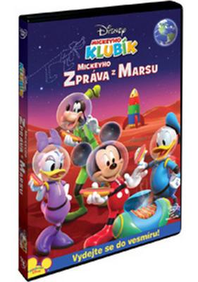 Obrázok Mickeyho klubík Mickeyho zpráva z Marsu
