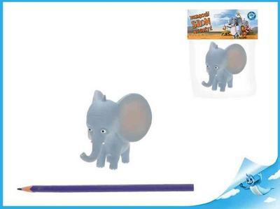 Obrázok Nejmenší slon na světě - postavička Bedříšek slon 7,5cmv sáčku