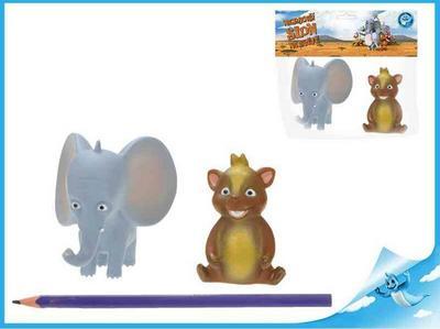 Obrázok Nejmenší slon na světě - postavičky Bedříšek a Eda 2ks vsáčku