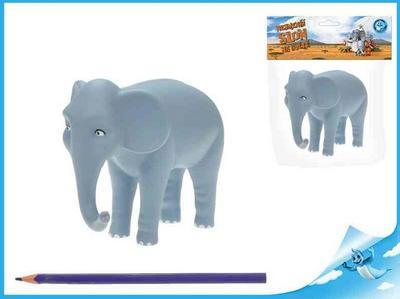 Obrázok Nejmenší slon na světě - postavička máma slon 12,5cm v sáčku