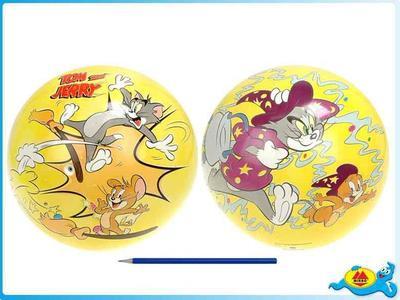 Obrázok T&J Míč 23cm Tom a Jerry v síťce žlutý