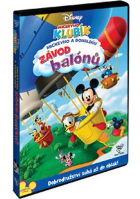 Obrázok Mickeyho klubík Mickeyho a Donaldův závod balónů