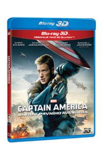 Obrázok Captain America Návrat prvního Avengera (2 Blu-ray 3D+2D)