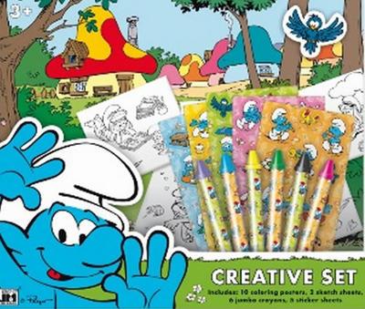 Obrázok Šmoulové Kreativní set