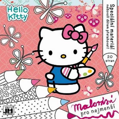 Obrázok Hello Kitty Malování pro nejmenší