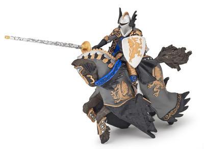 Obrázok Dračí černý princ s koněm