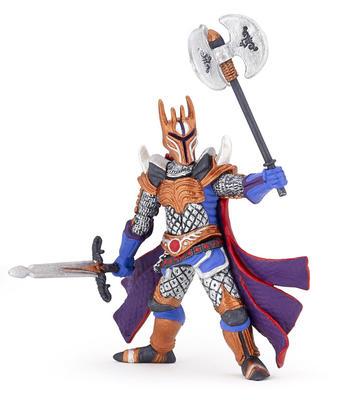 Obrázok Stříbrný rytíř s válečnou sekerou