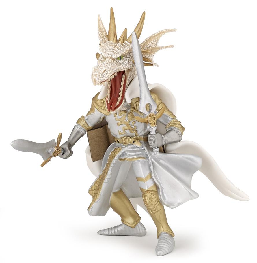 Dračí bojovník bílý