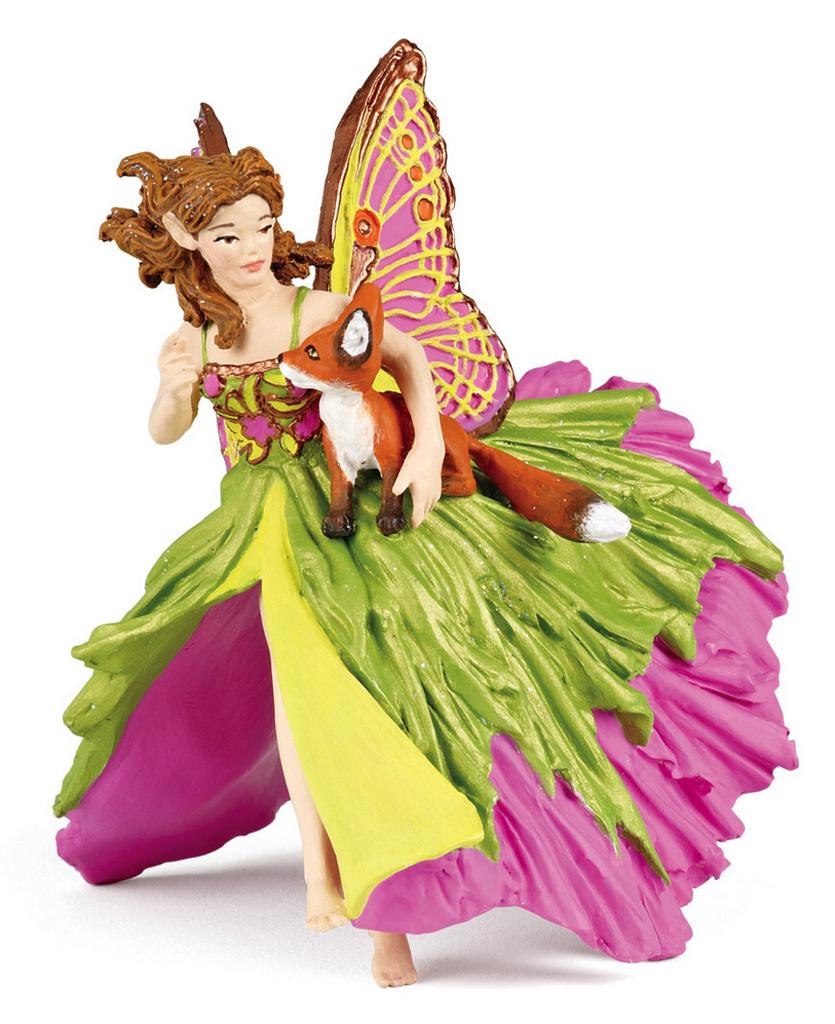 Elfka s lištičkou