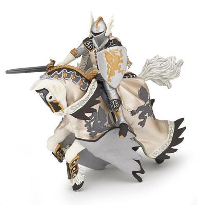 Obrázok Dračí princ bílý s koněm
