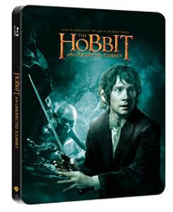 Obrázok Hobbit Neočekávaná cesta (2 Blu-ray) - steelbook