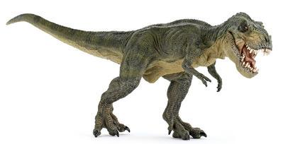 Obrázok Tyrannosaurus REX zelený běžící