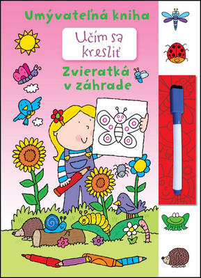 Obrázok Učím sa kresliť - Zvieratká v záhrade