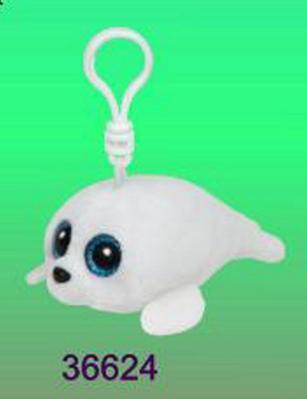Obrázok Beanie Boos Icy přívěšek bílý tuleň 8.5 cm