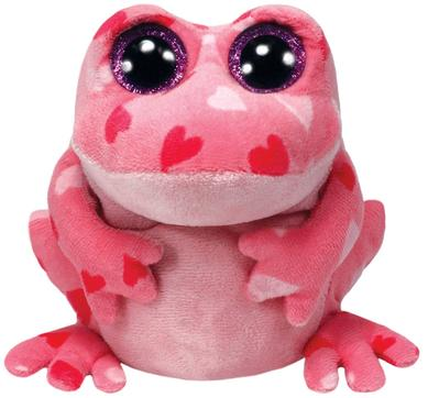 Obrázok Plyš očka střední žába se srdíčky