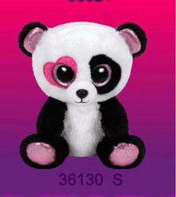 Obrázok Plyš očka střední panda srdíčko